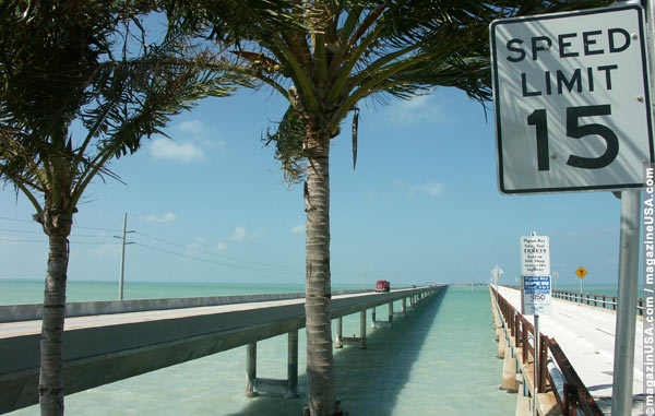 Seven Mile Bridge to Key West