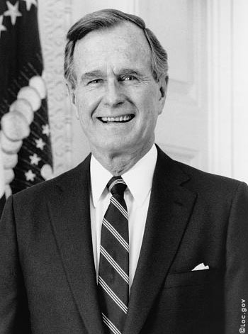 an introduction to the political history of republican george herbert walker bush Of the two bushes george herbert walker bush, the father, was an excellent president the son, george walker bush, not so much dubya presided over the worst man made disaster in american history, 9/11.