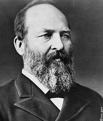 James A. Garfield Portrait