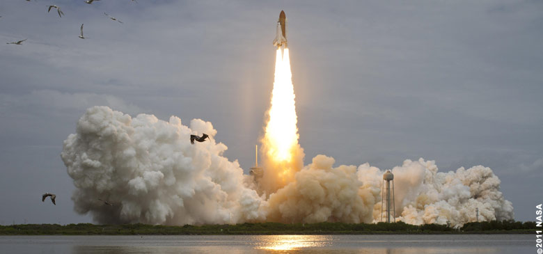 8-July-2011 -- Final launch of STS-135 Atlantis