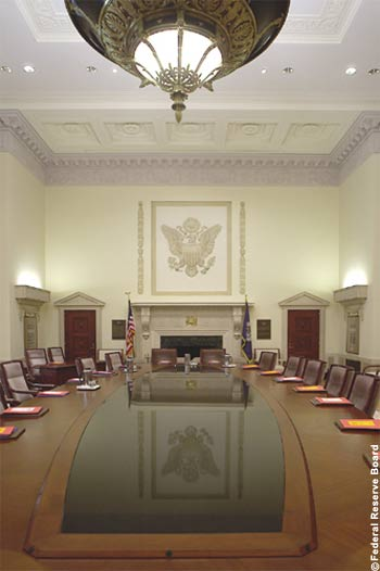 Federal Reserve Board Room