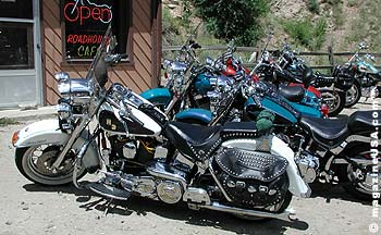 Harley's at Kermitt's Bar, Idaho Springs, CO