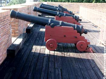 Fort Conde Cannons