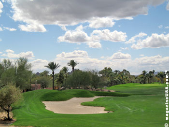 Twenty-seven holes have been grouped into three distinctive nines – the Oasis Nine, the Desert Nine and the Canyon Nine