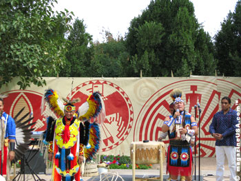 Native American music, dance and art at the Scottsdale Civic Center Mall
