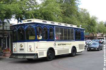 The Scottsdale Trolley is FREE to ride