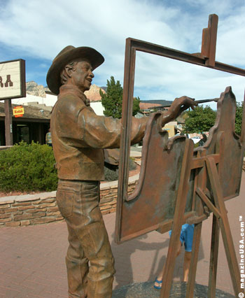 Sedona is home to over 200 artists of every medium and aesthetic bent.