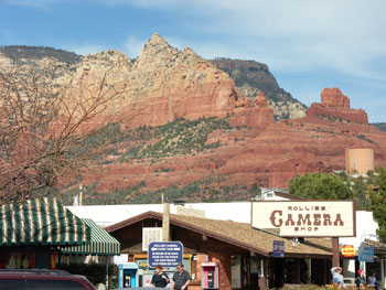 Main street in Sedona