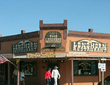 Restaurant in Old Tucson