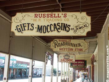 Shopping in Old Tucson