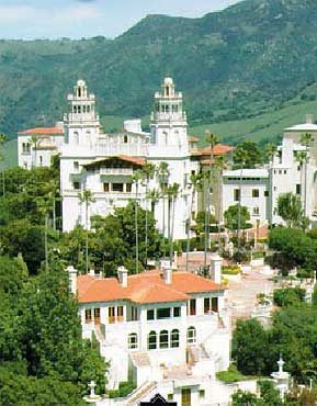 Travel Explore Usa California Hearst Castle San