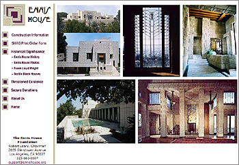 Website Ennis House