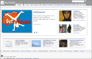 Getty Center Website