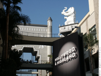 Hollywood & Highland Entertainment Complex with Dolby Theatre