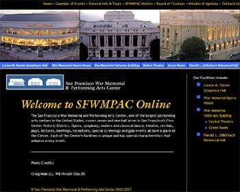 SFWMPAC Website