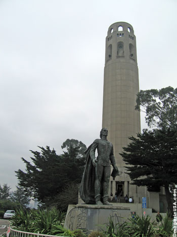 Coit Tower - ein Symbol San Francisco's