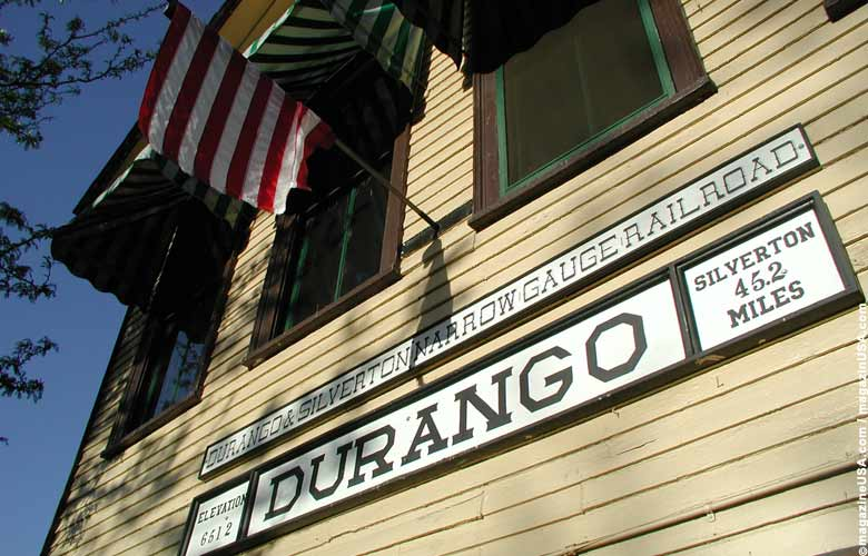 Durango & Silverton Narow Gauge Railroad, Train Station