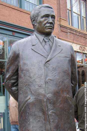Adolph Coors Statue in Golden, Colorado