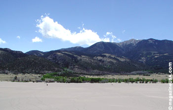 Great Sand Dunes National Park & Preserve: Sangre de Cristos Mountains