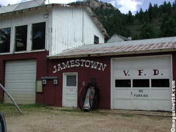 Jamestown, CO, is a semi-ghost town