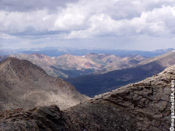 View from Mt. Evans Peak
