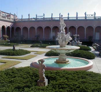 Yard of the Ringling Museum
