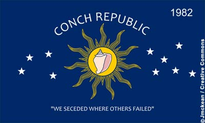 Flag Conch Republic
