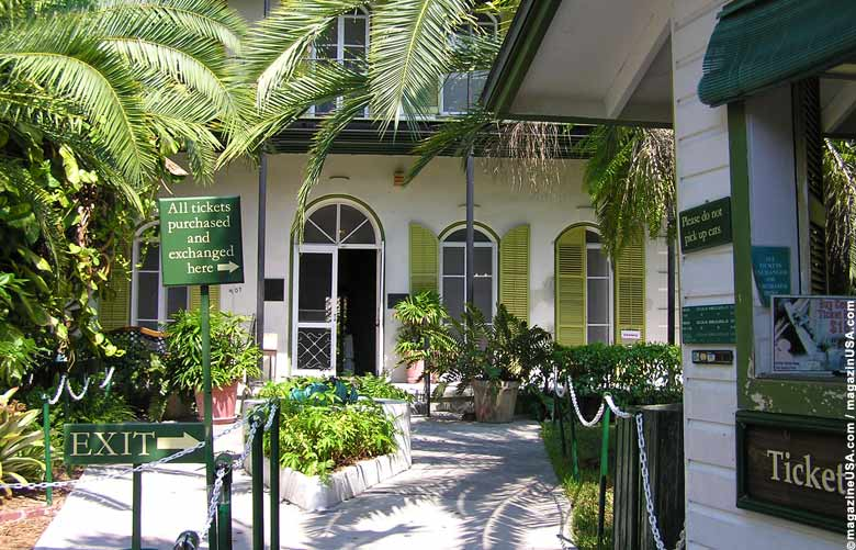 Hemingway House in Key West