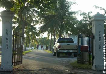 Key West Cemetery Entrance