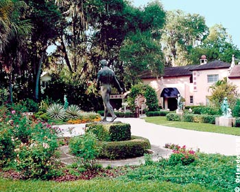 IThe Albin Polasek Museum and Sculpture Gardens is a gorgeous spot to tie the knot