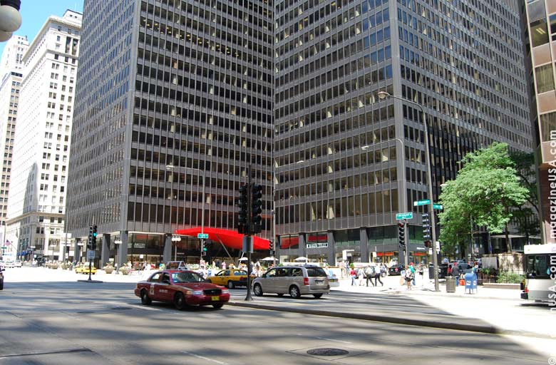 "The famed ""Magnificent Mile"" runs along Michigan