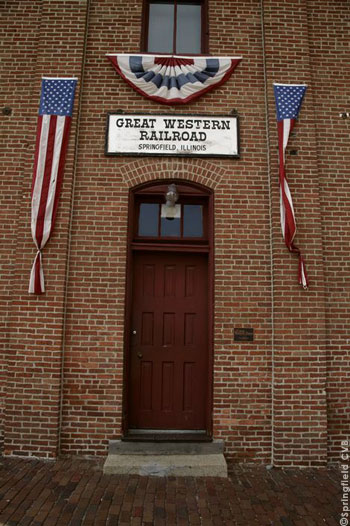 Great Western Railroad Lincoln Depot
