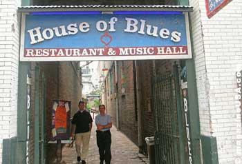 House of Blues in the French Quarter