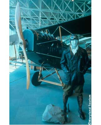 College Park Aviation Museum – The past takes flight at the world's oldest continually used airport. Established in 1909 by Wilbur Wright, the airport is also the site of an aviation museum with plenty of hands-on exhibits