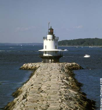 Spring Point 'Bug' Light, South Portland