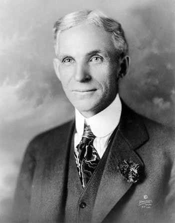 In 1896, Henry Ford built his first car in Detroit