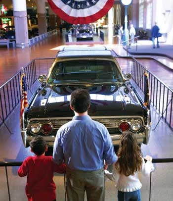 "The fascinating ""Automobile in American Life"" exhibit at the Henry Ford Museum offers a fascinating look at how developments in transportation have influenced life in the United States."