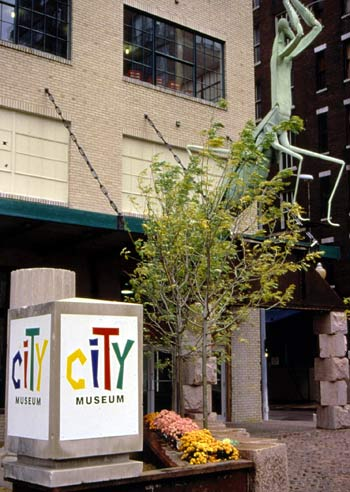 The City Museum Entrance