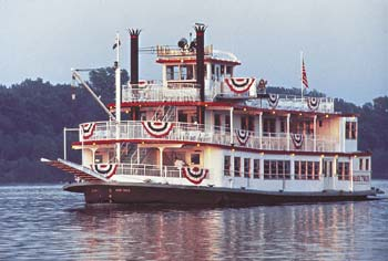 Enjoy a scenic cruise aboard an old-fashioned paddlewheel riverboat.