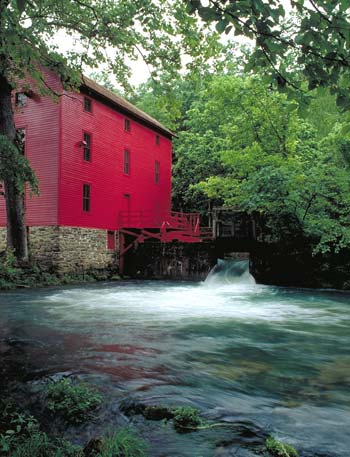 Historic Alley Springs Mill