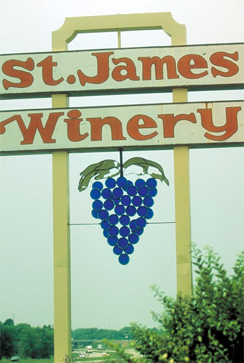 The St. James Winery has become one of the most nationally and internationally awarded wineries in the state.