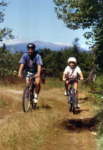Mountain biking in Mt. Washington Valley