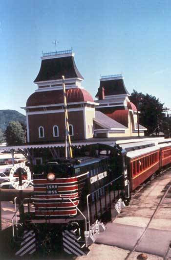 Conway Scenic Railroad, North Conway, NH