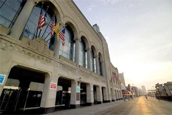 The historic Boardwalk Hall recently underwent renovations which has transformed the building into a major special events arena  and the home of the Miss America Pageant. The historic national landmark opened in 1929.