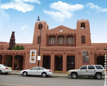 Institute of American Indian Arts Museum (IAIA),Santa Fe, New Mexico