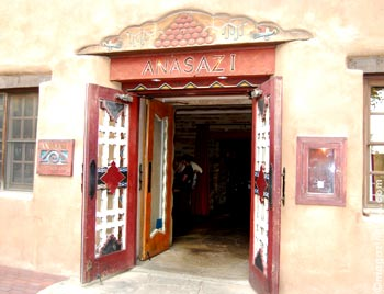 In Santa Fe, some restaurants and cafes are in charming, historic buildings