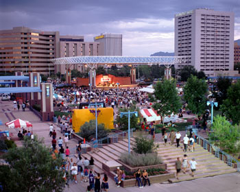 Civic Plaza Downtown is located in the heart of Downtown, Civic Plaza hosts many festivals and special events throughout the year