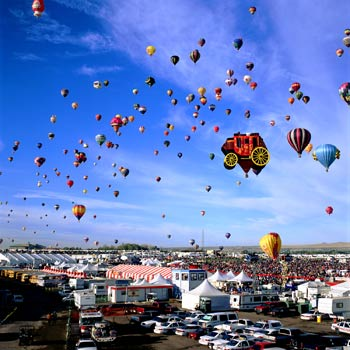 Millions of visitors come to the Albuquerque International Balloon Fiesta® each year.