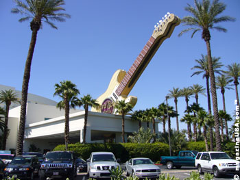 The Hard Rock Hotel and Casino