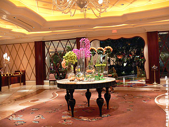 The Wynn Resorts Lobby